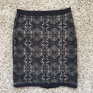 The Limited Lace Pencil Skirt Size 4!